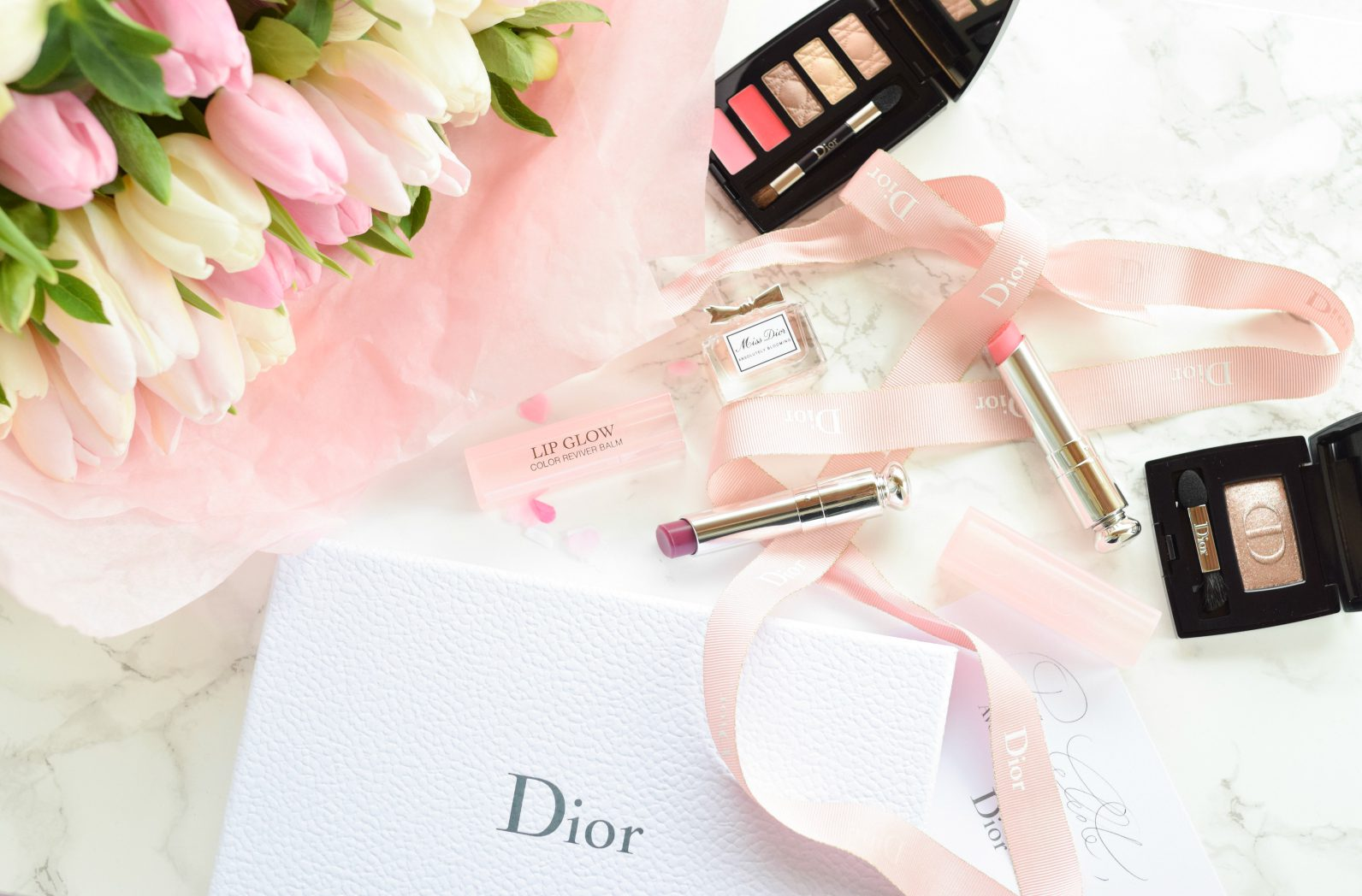 """Dior Beauty"" Lip Glow & Lip Sugar Scrub"