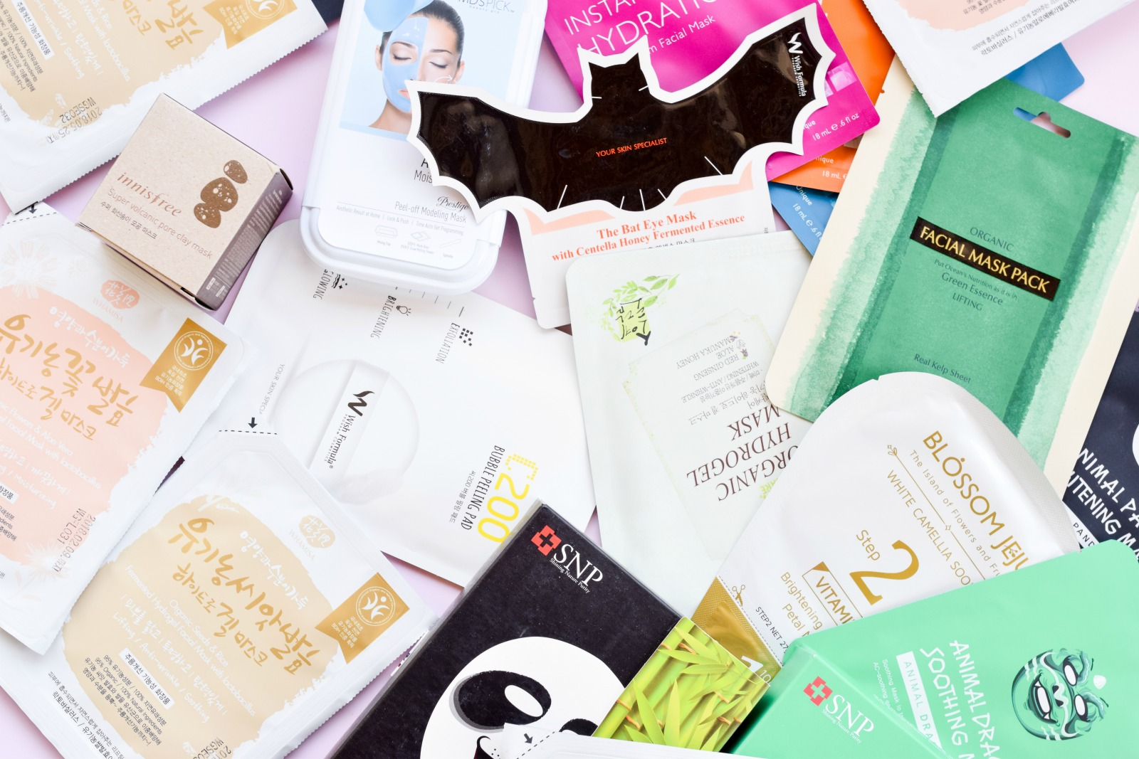 Korean Sheet Mask Review