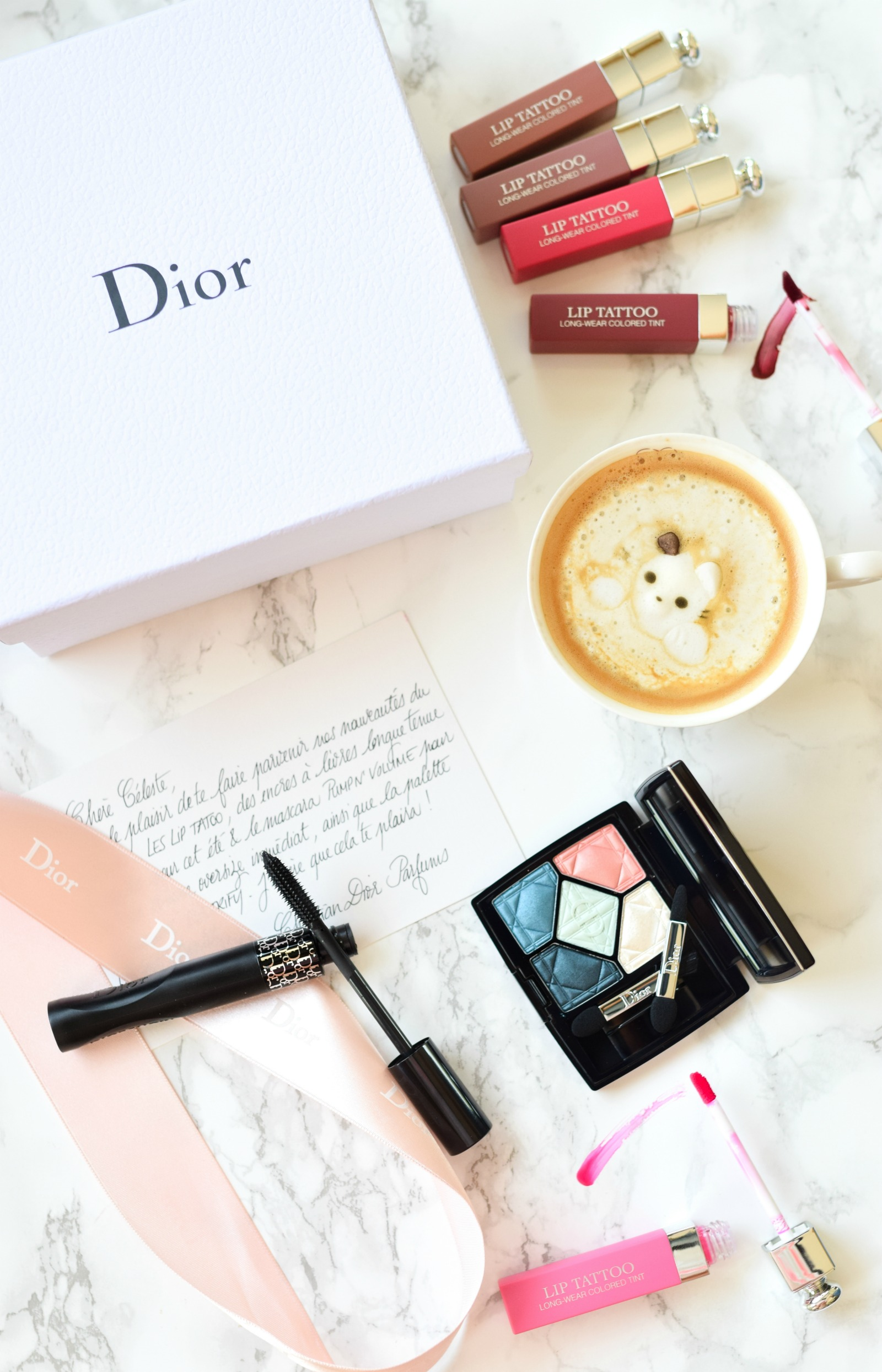 Dior Makeup, Lip Tattoo, Pump'N Volume mascara