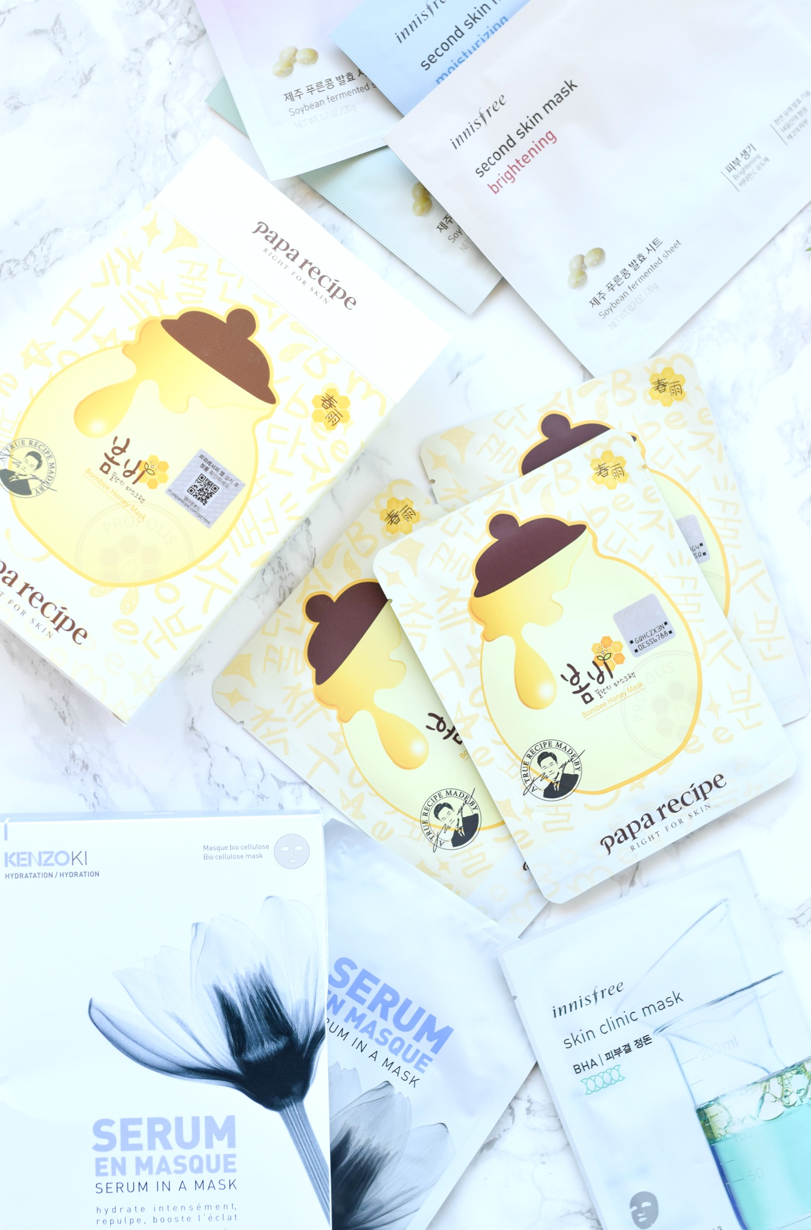 K-Beauty // Sheet Masks Reviews 2#
