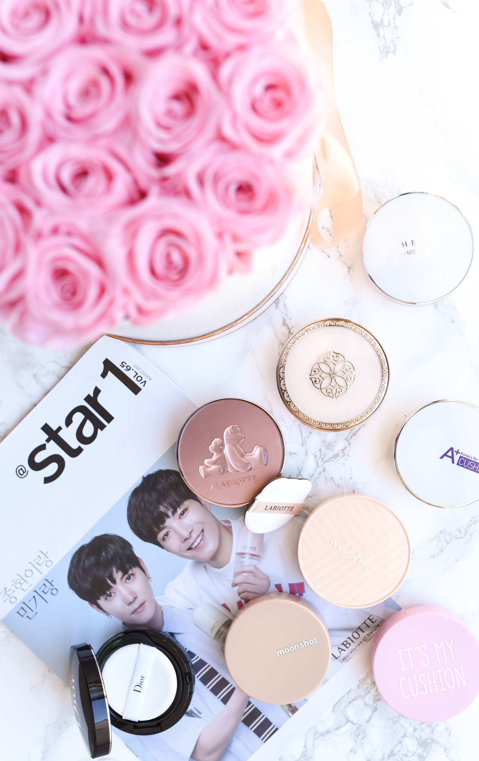 K-Beauty// Cushion Foundations Guide